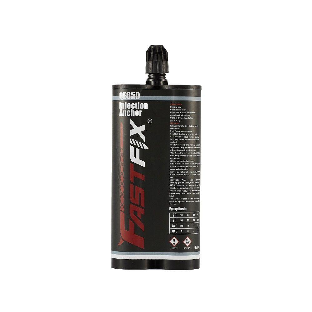 Keo cấy thép Fastfix QE 650 – Keo cấy thép giá rẻ chất lượng tốt